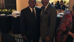 "Senator Steve Bradford (D - Gardena) and the Honorable Mark Ridley-Thomas, Chairman, Los Angeles County Board of Supervisors, Second District attend the 5th Annual Legacy Leaders Spring Gala: ""A Tribute to Legends: Championing the CDU Mission,"" to honor the heirs of Dr. Charles R. Drew."