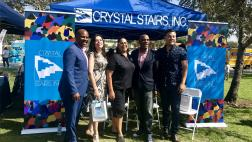 Senator Bradford with Assemblymembers  Mike Gipson,  Blanca Rubio, and Senator Ricardo Lara