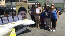 Bradford attends the Gardena Valley Chamber of Commerce's 8th Annual Operation Backpack