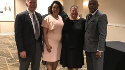 Senator Bradford with Assemblywoman Christina Garcia